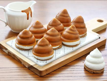 קרמבו מסקרפונה, שוקולד לבן ולוטוס