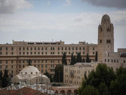 233 סוויטות וחדרים. מלון המלך דוד