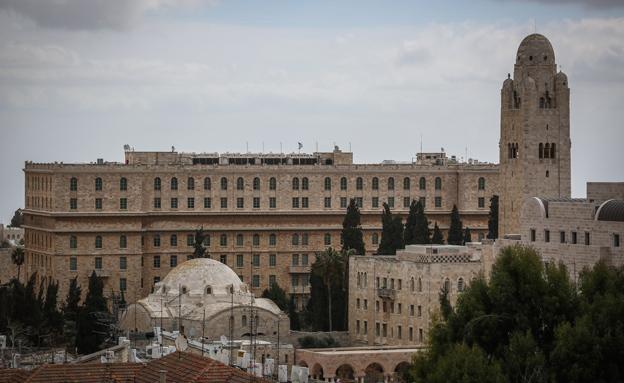233 סוויטות וחדרים. מלון המלך דוד (צילום: הדס פארוש / פלאש 90)