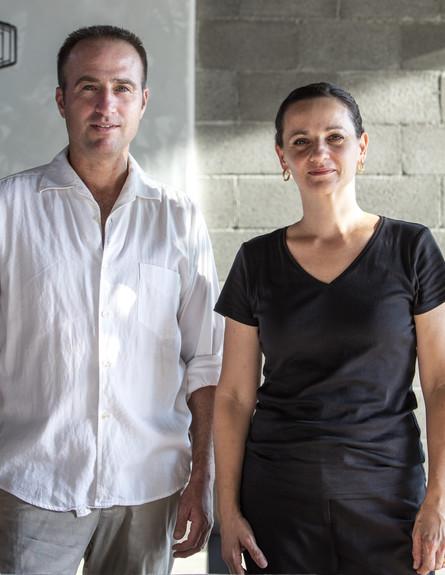 תמר יעקבס ואושרי יניב (צילום: יחסי ציבור)