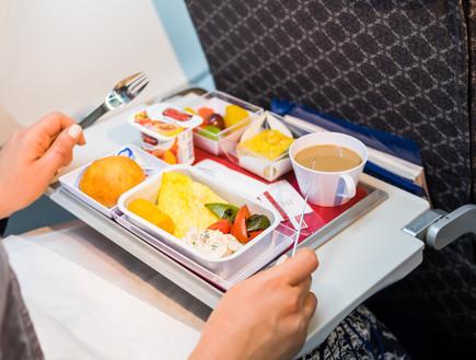 אוכל של מטוס (צילום: יחסי ציבור)