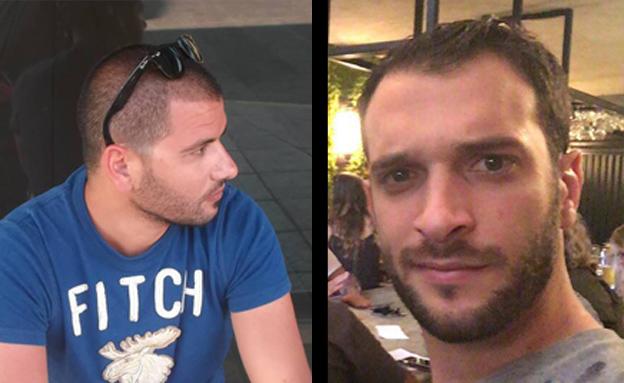 """אלון בקל ושמעון רוימי ז""""ל (צילום: באדיבות המשפחה, פייסבוק)"""