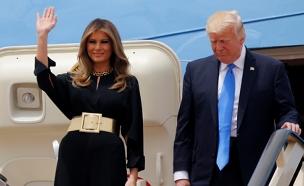 ביקור הנשיא: טראמפ מגיע לישראל (צילום: רויטרס)