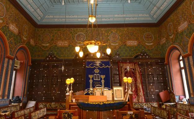 בית הכנסת עדס (צילום: יחסי ציבור)