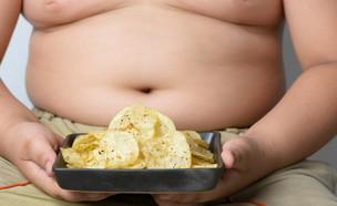 ילד שמן (צילום: ShutterStock)