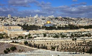 נוף ירושלים (צילום: Anna Levenkova, Shutterstock)