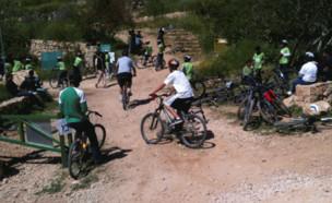 שביל אופניים בירושלים (צילום: יחסי ציבור)