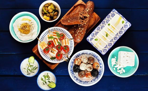 פלטת גבינות גד - הבלקנית (צילום: אמיר מנחם, אוכל טוב)