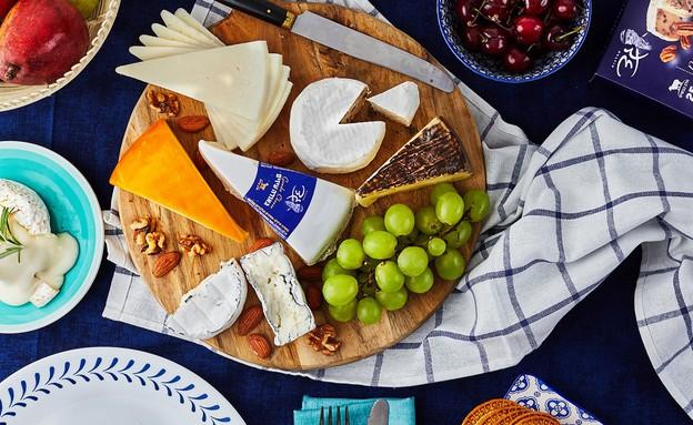 פלטת גבינות גד - האירופאית (צילום: אמיר מנחם, אוכל טוב)