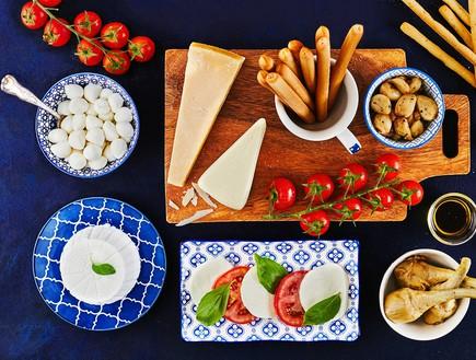 פלטת גבינות גד - האיטלקית