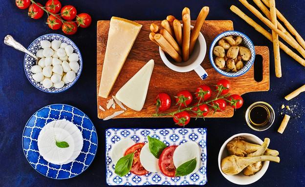 פלטת גבינות גד - האיטלקית (צילום: אמיר מנחם, אוכל טוב)