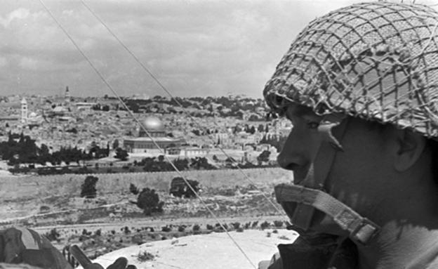 """הקרבות בירושלים (צילום: ארכיון צה""""ל במשרד הביטחון, צלמי במחנה)"""
