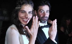 החתונה של יהודה לוי ושלומית מלכה (צילום: לירון לוי)