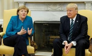 """מרקל נגד טראמפ. """"אין על מי לסמוך"""" (צילום: רויטרס)"""