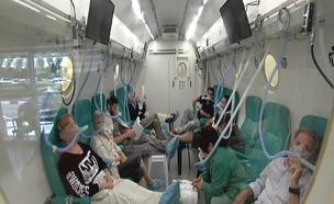 הטיפול שמשפר את הפעילות המוחית (צילום: חדשות 2)