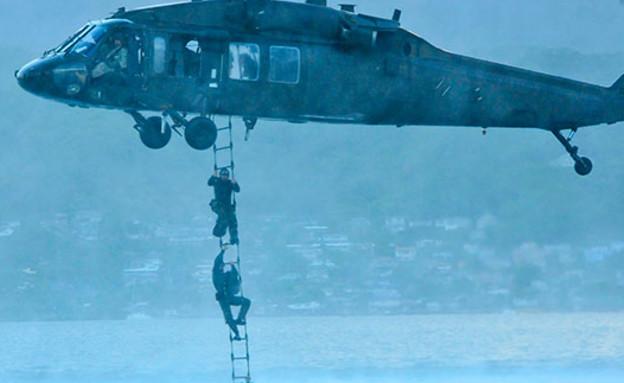 """צוות 1 של """"אריות הים"""" (צילום: הצי האמריקאי)"""