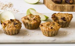 סוגת – מאפינס שיבול שועל, תפוחים, תמרים וקינמון (צילום: בבושקה הפקות)