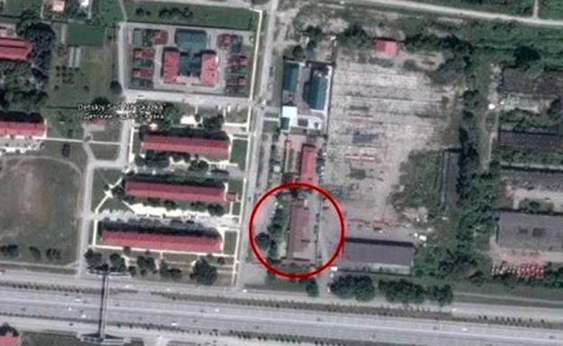 תמונות מחנות הריכוז שפורסמו בעולם (צילום: google maps)