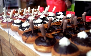 סופגניות קינוחים (צילום: חדשות 2)