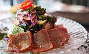 סלט טונה אדומה צרובה, רפאבליק (צילום: גיל גוטקין, אוכל טוב)