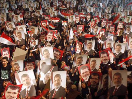 הפגנת האחים המוסלמים במצרים (ארכיון) (צילום: רויטרס)
