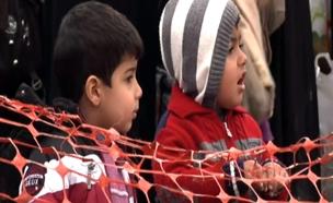 כ-100 אלף ילדים בסכנה במוסול (צילום: SKY NEWS)