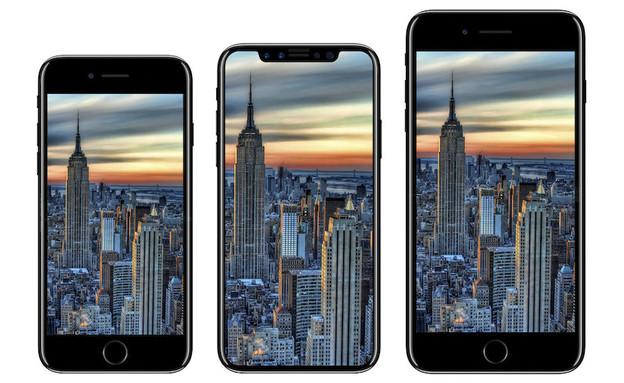 הדמיית אייפון X (הדמיה: iDrop News)