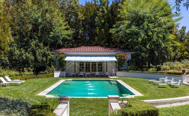 הבית של אנג'לינה ג'ולי (צילום: Hilton & Hyland)