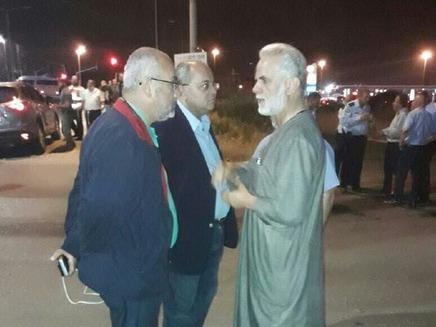 חברי כנסת ערביים מגיעים לזירה