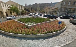 פרסה לרחובות פנימיים. שדרות בן גוריון בח (צילום: גוגל מפות)