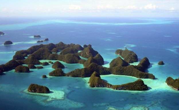 פאלאו - איים נשטפים בזרם (צילום: רויטרס)