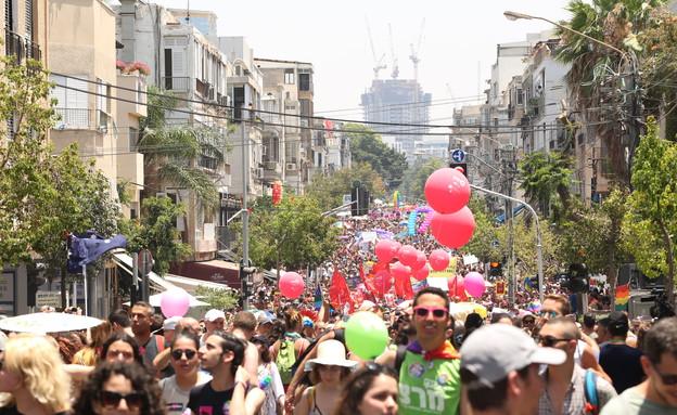 מצעד הגאווה 2017 (צילום: עופר חן, מאקו)
