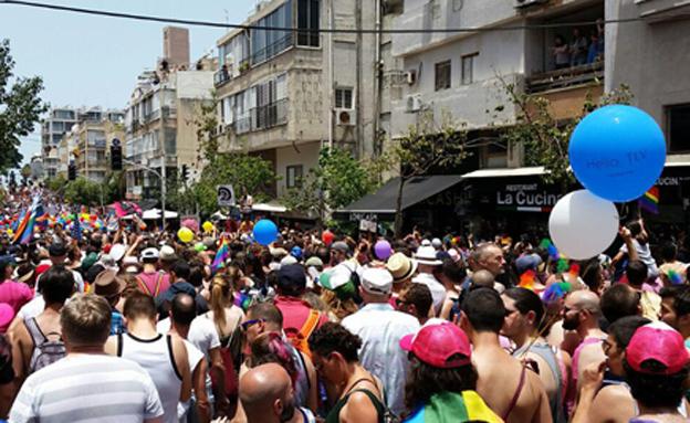 המצעד בשנה שעברה (צילום: עזרי עמרם, חדשות 2)