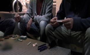 כתבה, יעל אודם, בני נוער מעשנים סמים (צילום: חדשות 2)