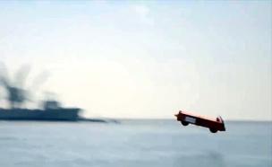 צפו: כך משגרים בעוצמה מטוסי קרב בים (צילום: EMALS)