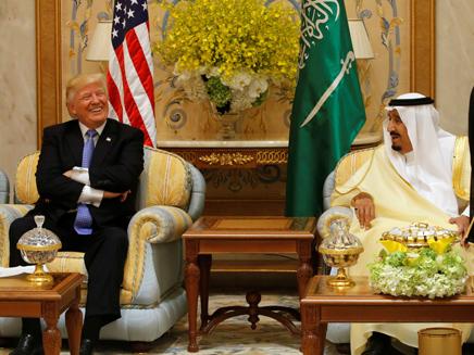 טראמפ בסעודיה