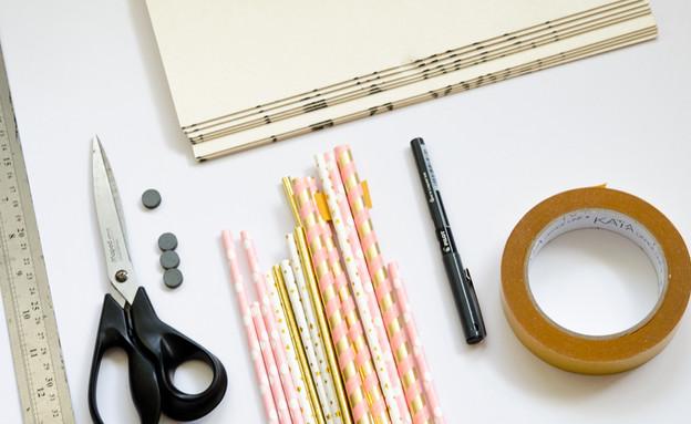 001_חומרים-להכנת-מסגרות (צילום: נועה קליין)