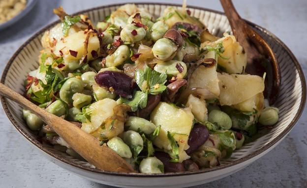 סלט תפוחי אדמה (צילום: אסף אמברם, אוכל טוב)