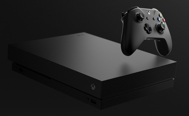 ההכרזה על Xbox One X (צילום: מיקרוסופט)