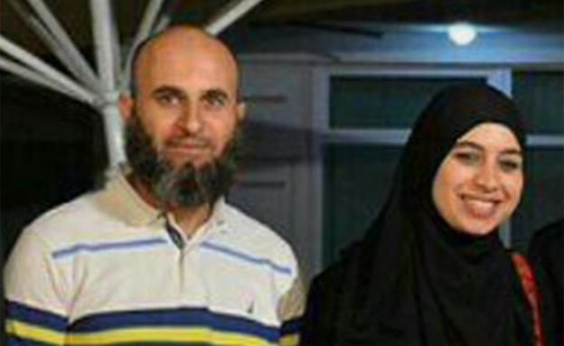 ויסאם זבידאת ואשתו שהורשעה (צילום: חדשות 2)