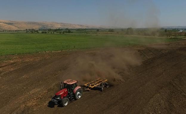 החקלאים בצפון זועמים על מחירי המים (צילום: סטודיו גולן)