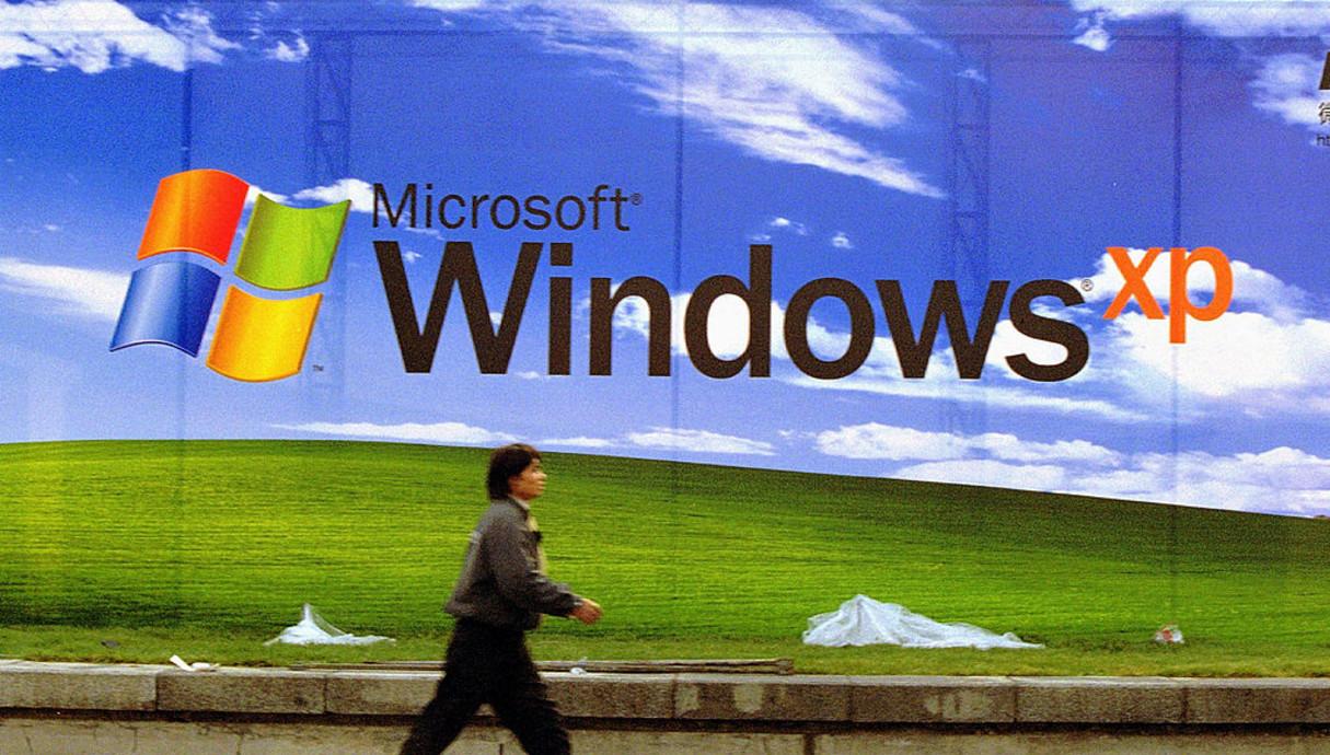 פרסומת לווינדווס XP