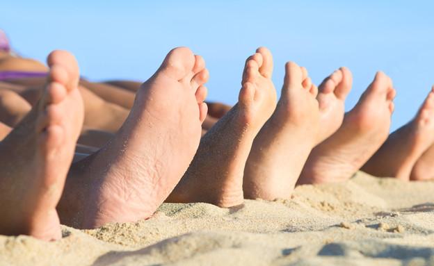 משפחה בים (צילום: Rido, Shutterstock)