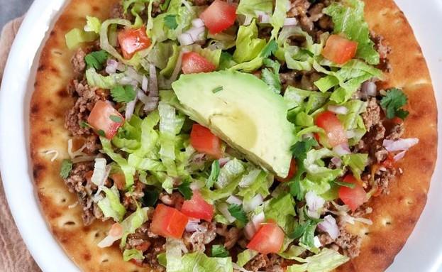 פיתה פיצה מקסיקנית (צילום: יחסי ציבור)