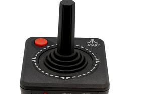 ג'ויסטיק לקונסולת משחק קלאסית של אטארי (צילום: ShutterStock)