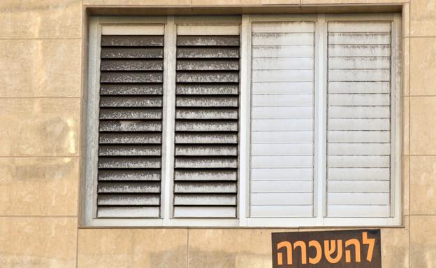 שלט להשכרה על דירה בתל אביב (אילוסטרציה: Shutterstock)
