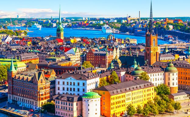 שטוקהולם (צילום: Scanrail1, Shutterstock)