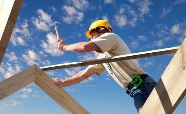 פועל בניין (צילום: אימג'בנק / Thinkstock)