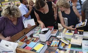 שבוע הספר בתל אביב (צילום: תומר אפלבאום, TheMarker)