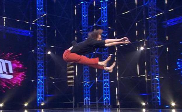 """האודישן של X יענקל'ה פילצר (צילום: מתוך """"רק רוצים לרקוד"""", שידורי קשת)"""